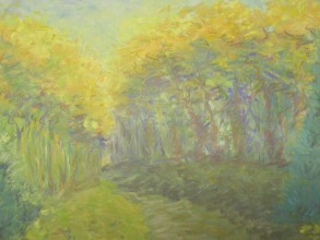 Chateau Forest, Pastel-Sold