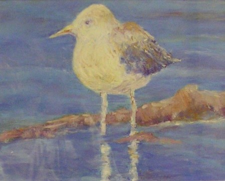 Beach Buddy, Pastel - Sold