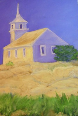 Gosport Chapel, Pastel, Sold